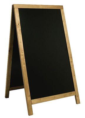 Doppeltafel 125 cm, teakfarben, Fläche: 58 cm x 100 cm