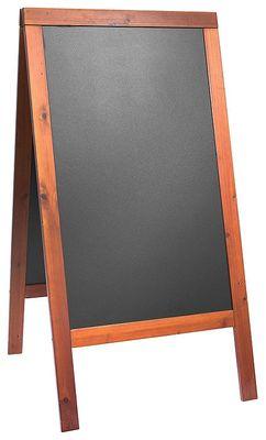 Doppeltafel 120 cm, mahagoni,  Fläche: 58 cm x 88 cm