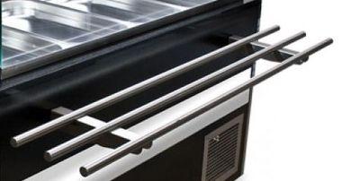 Frontablage klappbar für Gastroline Theke 1000mm Breite