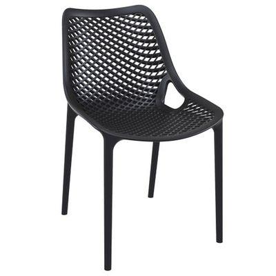 Terrassenstuhl Air Chair Schwarz 4 Stück