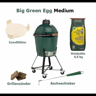 Big Green Egg Grill Medium EGG Komplett Paket