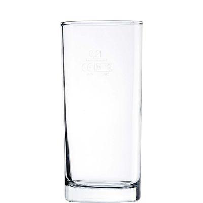 Verre à long drink Arcoroc Amsterdam, 27 cl - repère de remplissage à 0,2 l