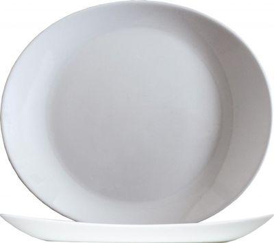 Arcoroc Solutions White Steakplatte rechteckig 30 x 26 cm, weiß