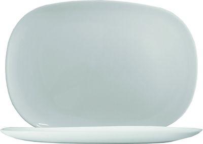 Arcoroc Solutions White Hax'n Platte 34 x 24 cm, weiß