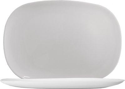 Arcoroc Solutions White Spargelplatte 34 x 24 cm, weiß