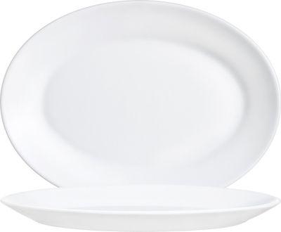 Arcoroc Restaurant White Platte oval 29 cm, weiß