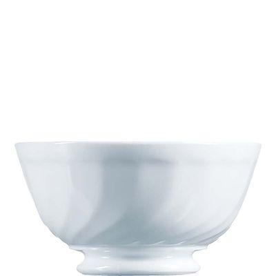Arcoroc bol à soupe Trianon Uni blanc 13,2cm contenu 46,8cl