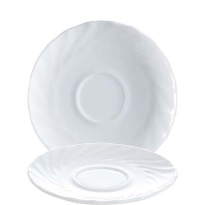 Arcoroc Sous-tasse  Arcoroc Trianon Uni weiß 14,5cm