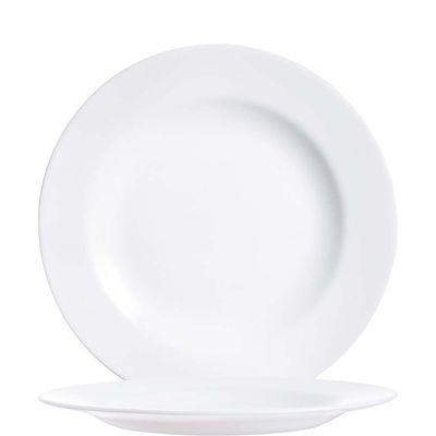 Assiette à dessert Arcoroc Evolution Uni, plate, 19,5cm