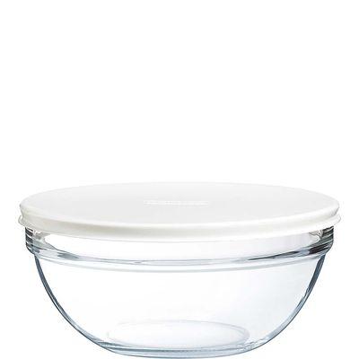 Arcoroc Empilable Salatschale mit Plastikdeckel 20cm