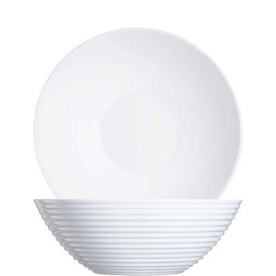 Saladier blanc Arcoroc Stairo Uni, 27,3 cm, 310 cl
