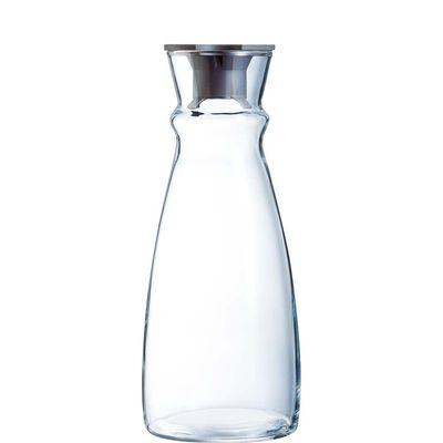 Arcoroc Fluid Karaffe 110 cl mit Kunststoffdeckel