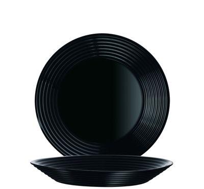 Luminarc Harena Uni schwarz Teller tief 23,5cm