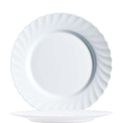 Arcoroc Trianon assiette plate blanche 27,3cm