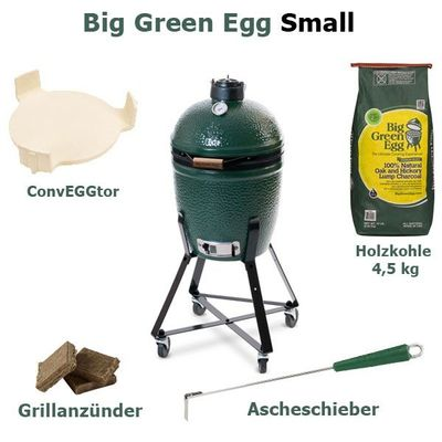 Big Green Egg Grill Small EGG Komplett Paket