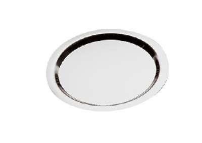 Tablett -Finesse- rund ca. Durchm. 32 cm, H 1,2 cm