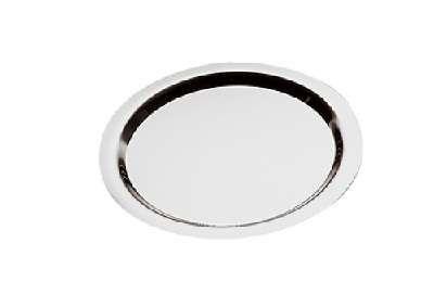 Tablett -Finesse- rund ca Durchm. 58 cm, H 2 cm