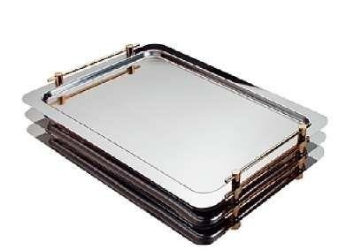 Plat empilable système GN 1/1 APS -PROFI LINE- 53x32,5cm, hauteur utile 4 cm
