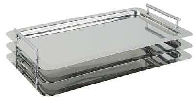 Plat empilable système GN 1/1 APS 53x32,5cm, hauteur utile 3,5 cm