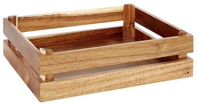 Boîte en bois APS - SUPERBOX- 35 x 29 cm, hauteur: 10,5 cm