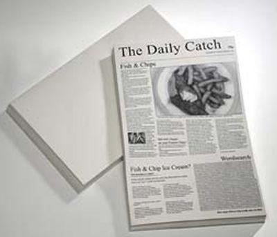 APS papier ciré -PORTE-NOIR- 42 x 25 cm, gris vierge