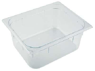 APS GN 1/4 Polycarbonat Behälter  26,5 x 16,2 cm, Tiefe: 100 mm