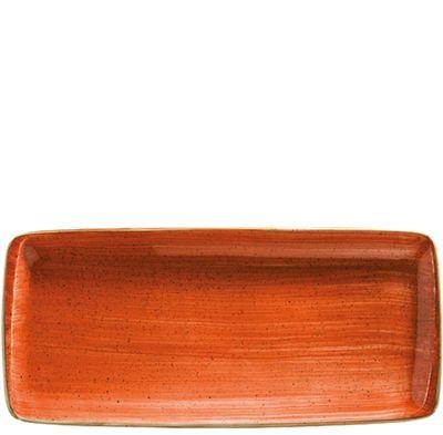 BONNA  Terracotta Moove Platte 34 x 16cm