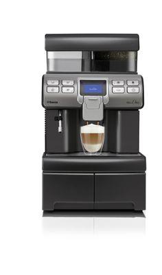 Saeco Aulika TOP One Touch Cappuccino anthrazit mit Festwasseranschluss inkl. Aufstellpauschale