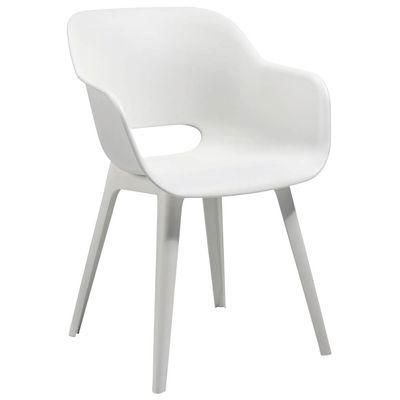 Chaise Split blanc 4pièces