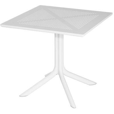 Table Ohio 80 x 80cm blanc