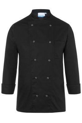 Herrenkochjacke Basic, schwarz, Größe: XL