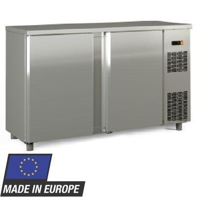Barkühltisch PROFI 2/0 - Edelstahl
