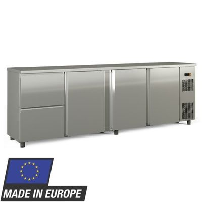 Barkühltisch PROFI 3/2 - Edelstahl