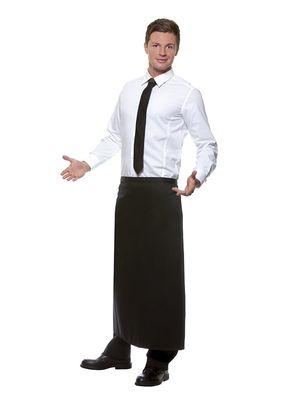 Bistroschürze Ibiza 110 x 90 cm, schwarz