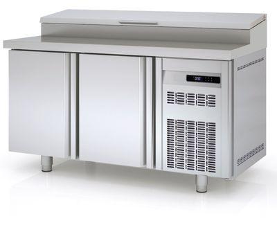 Table réfrigérée avec station de garniture PROFI 2/0 - GN 1/1