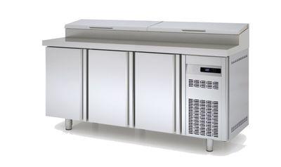 Table réfrigérée avec station de garniture PROFI 3/0 - GN 1/1