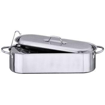 Bouilloire à poisson, 44 x 13,5 x 10,5 cm, contenance: 6 litre