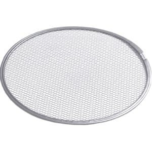 Grille à pizza en aluminium - métal déployé, diamètre: 20cm