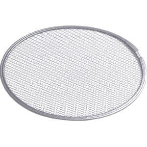 Grille à pizza en aluminium - métal déployé, diamètre: 50cm