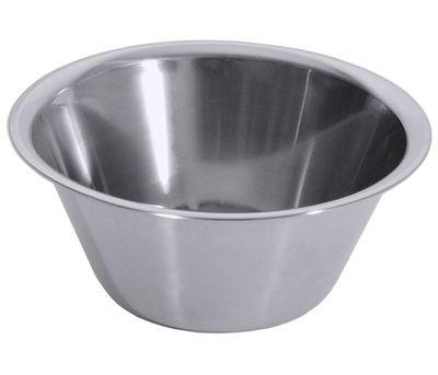 Küchenschüssel 18/10, hochgläzend poliert, Bodendurchmesser: 8 cm, Volumen: 0,6 Liter