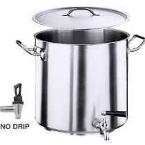 Cuiseur de pommes de terre, Série 2100, diamètre de la base 28,5cm, capacité: 25 l.