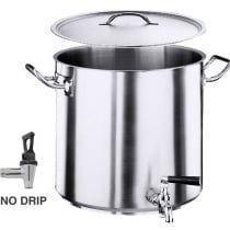 Serie 2100 Hoher Kartoffelkocher, Boden Durchmesser 32cm Inhalt: 36 Lt.