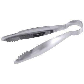 Pince à glaçons en acier inoxydable18/10, longueur de 14 cm