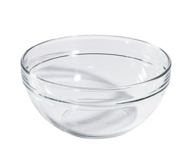 Glasschale mit 0,05l, stapelbar
