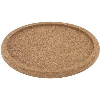 Dessous de plat en liège avec bord, diamètre intérieur 14cm, hauteur 1,5cm