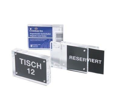 Porte-cartes magnétiques, 8,3x5,5x1,5cm