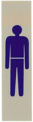 Schild MANN (Symbol)