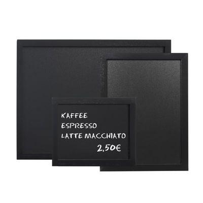 Tableau noir en PVC noir, 40 x 30 cm