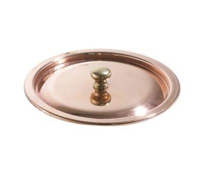 Deckel aus Kupfer, 12cm Durchmesser