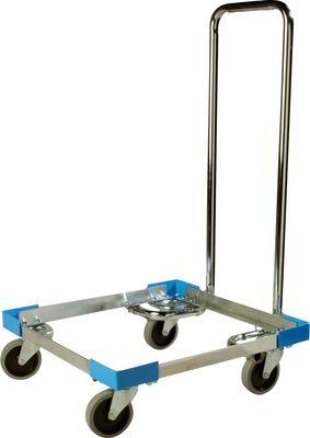 Aide au transport aluminium avec poignée pour les paniers de rinçage 500x500